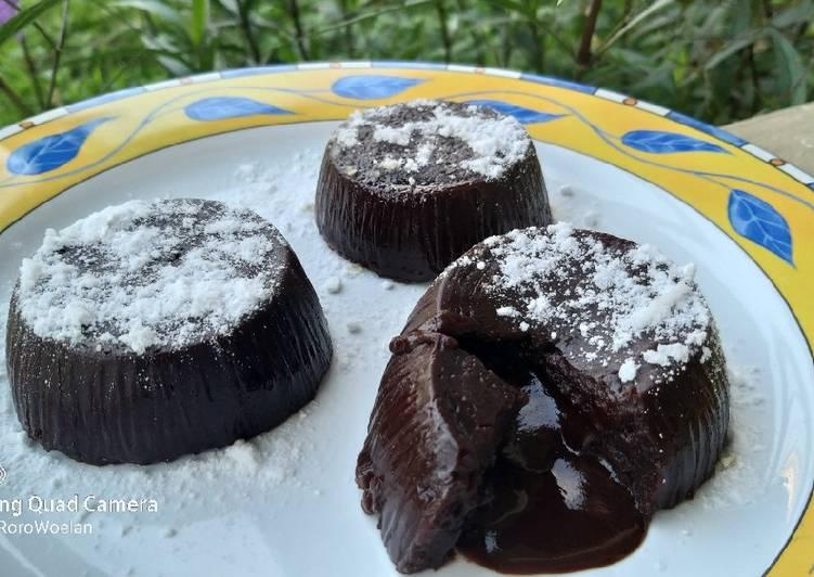 Resep: Chocolatos lava cake