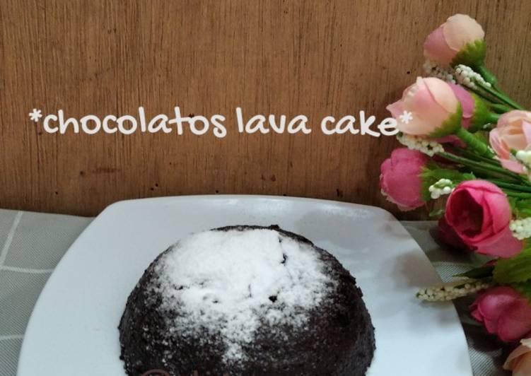 Resep mengolah *Chocolatos lava cake* istimewa