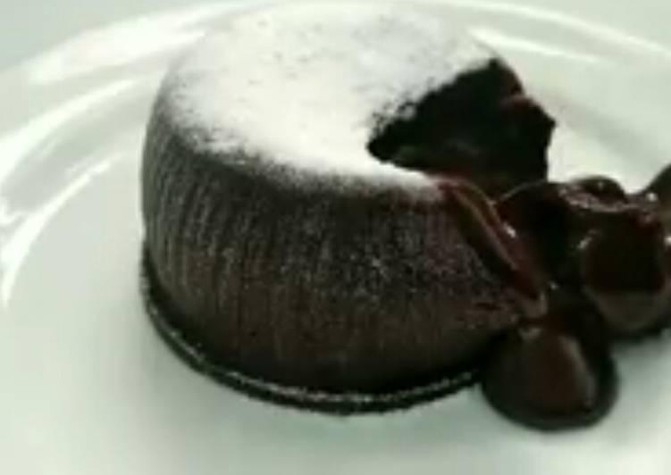 Cara membuat Chocolatos lava cake enak