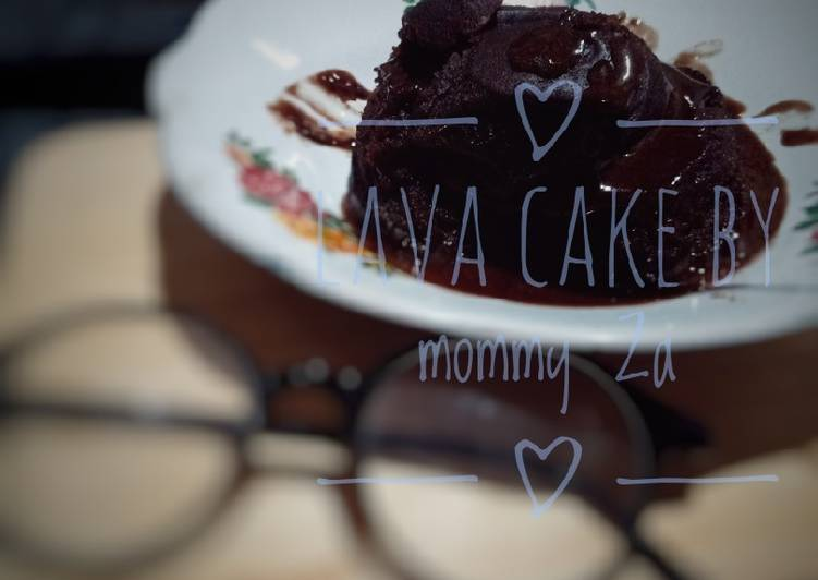 Resep: Choco lava cake simpel🍰🍰