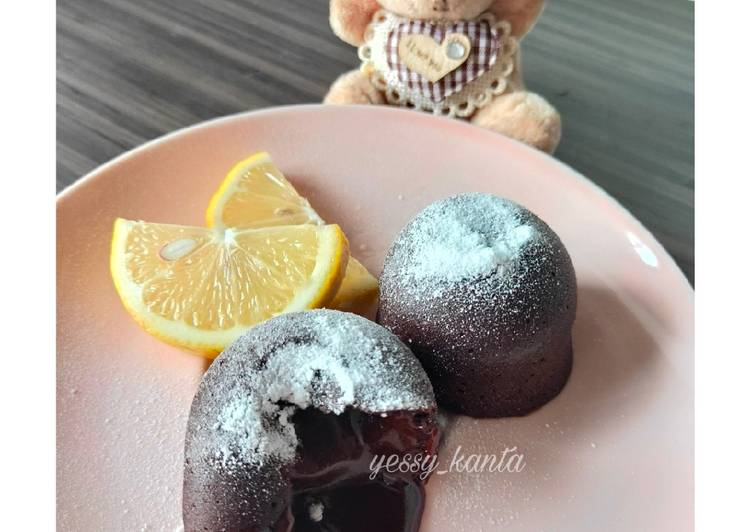 Cara memasak Lava Cake Simple anti gagal
