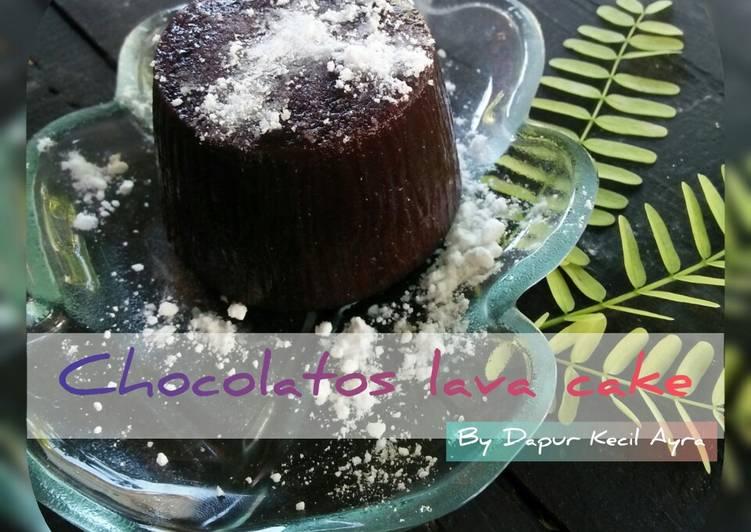 Resep membuat Chocolatos lava cake enak
