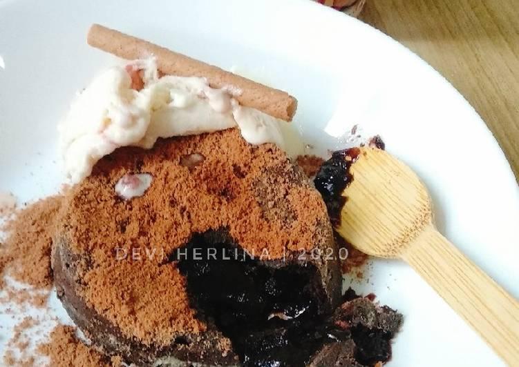 Resep: Lava cake lumer istimewa