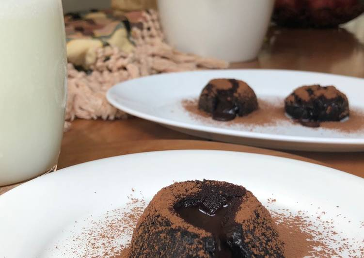 Resep: Lava Cake (egg less)