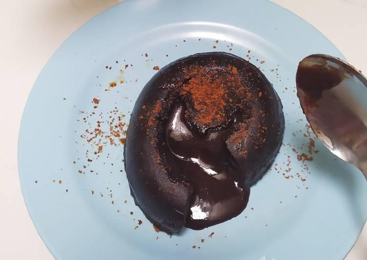 Resep mengolah Simple lava cake