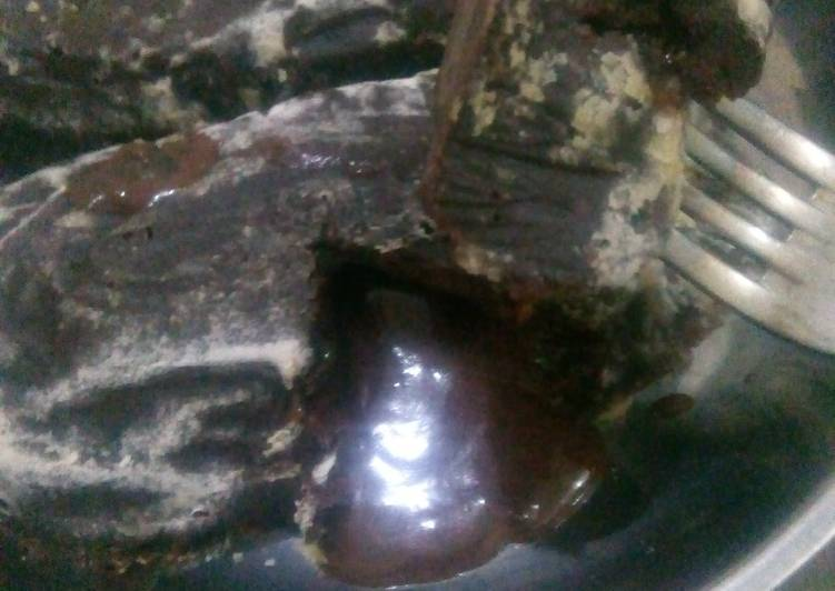 Cara Mudah membuat Lava cake chocolatos lezat