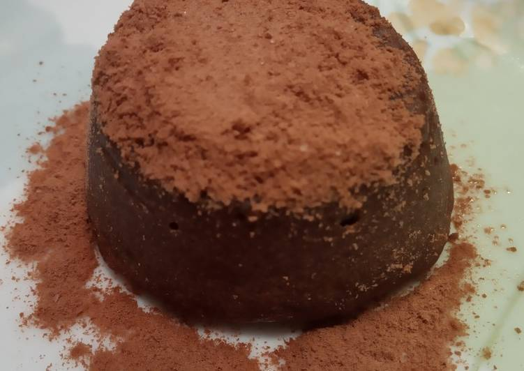 Resep: Milo lava cake enakk