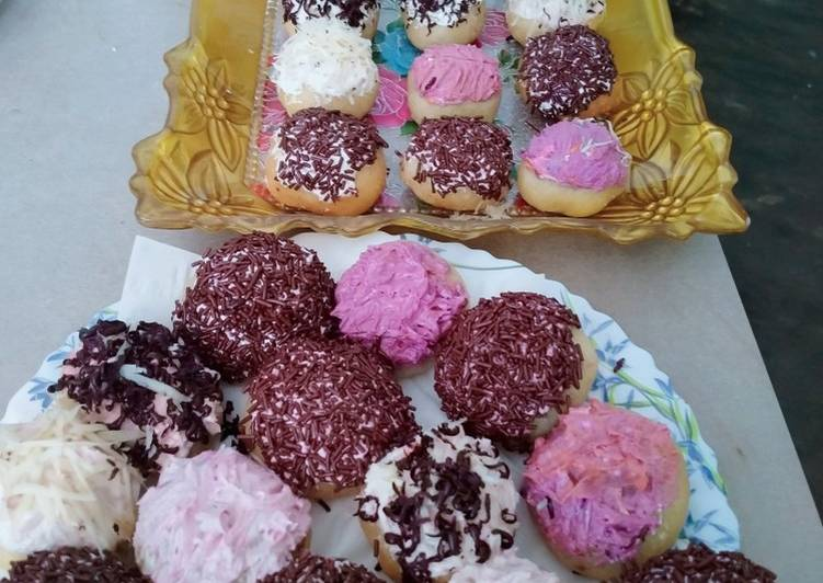 Donat mini potato no telur