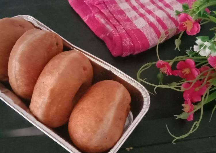 Resep: Donat kentang ubi ungu enak