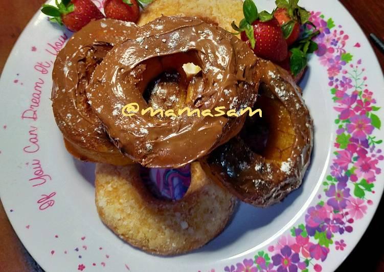 Donat Kentang (eggless)