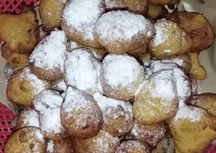 Resep: Donat kentang mini.. Modif resep yackikuka