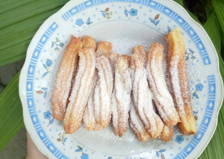 Resep: Churros krispi simple