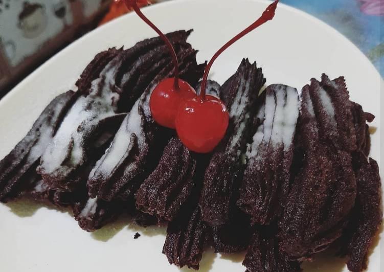 Resep: Churros coklat enak