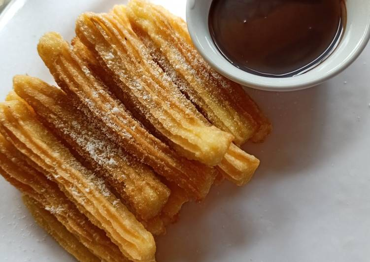 Resep mengolah Churros crispy simple