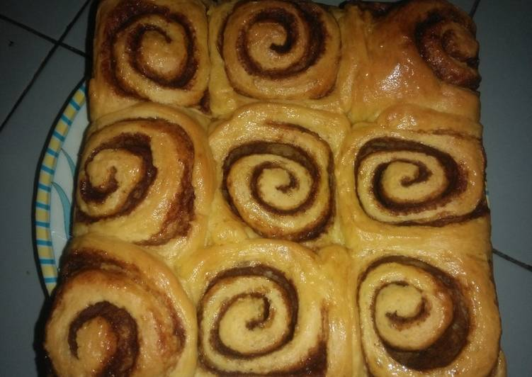 Resep: Cinnamon roll