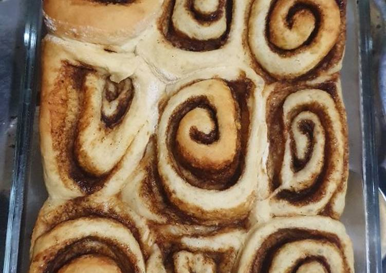 Resep: Cinnamon roll (roti gulung kayu manis) enak