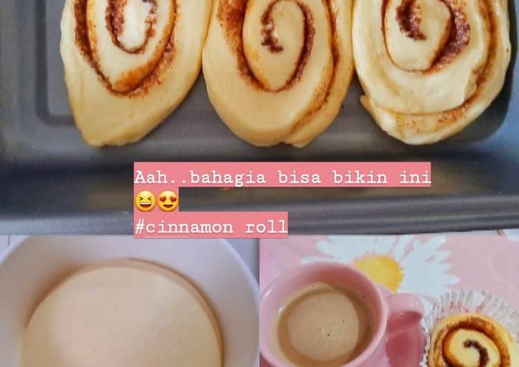Resep: Cinnamon roll istimewa