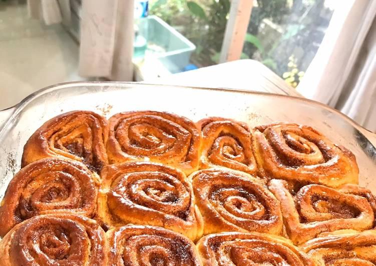 Resep: Cinnamon roll enak
