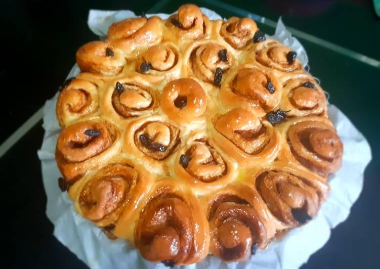 Resep: Cinnamon roll lezat