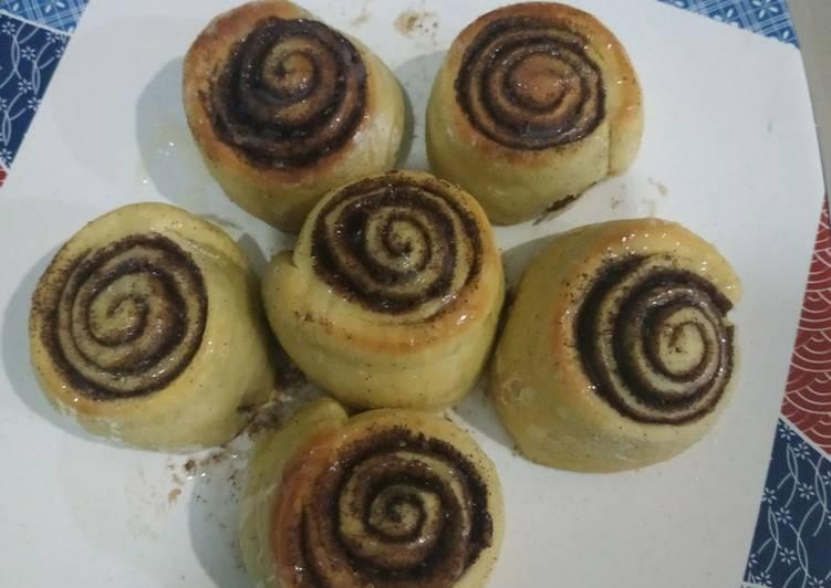 Cara Mudah membuat Cinnamon Roll simple pemula