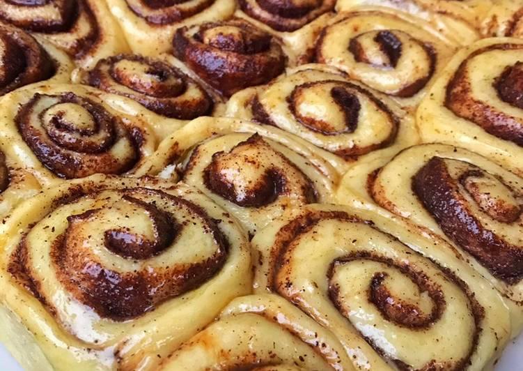 Resep mengolah Cinnamon rolls enak
