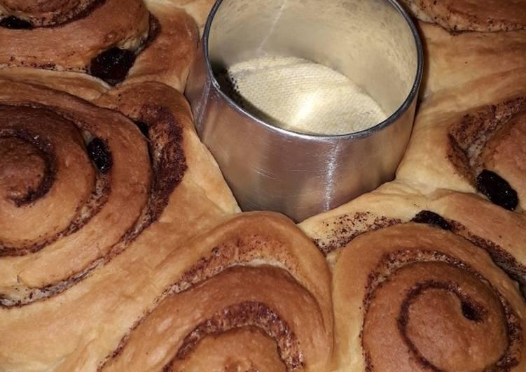 Resep membuat Cinnamon Rolls Wangi dan Empuk