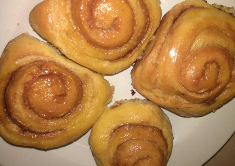 Resep: Cinnamon Roll Eggless Tanpa tepung Cakra Ekonomis