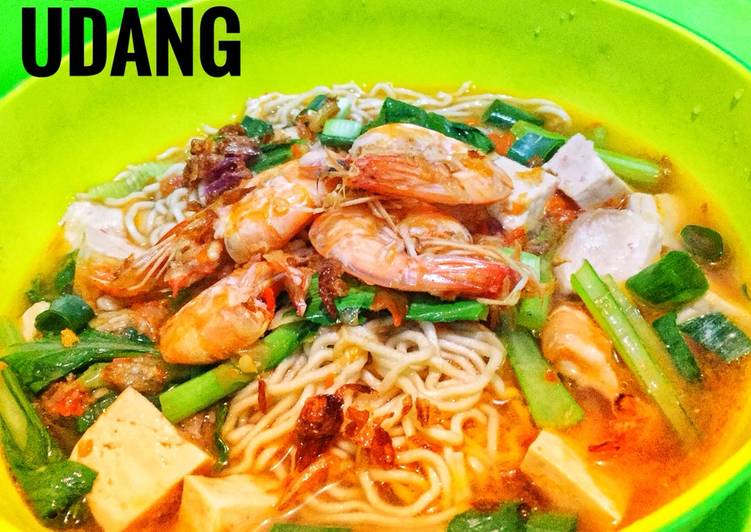 Resep: Mie Tomyam udang lezat