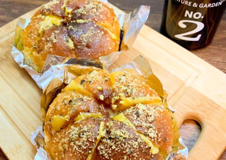 Resep: Korean garlic cheese bread enak