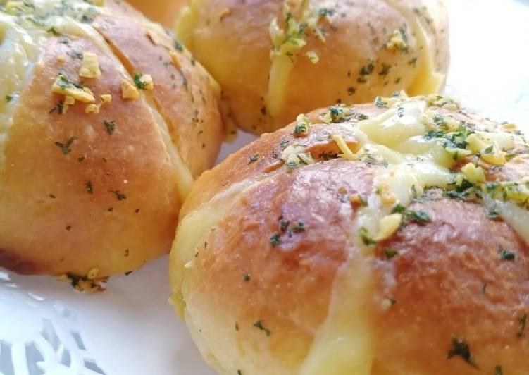 Resep: Korean Garlic Bread lembut istimewa