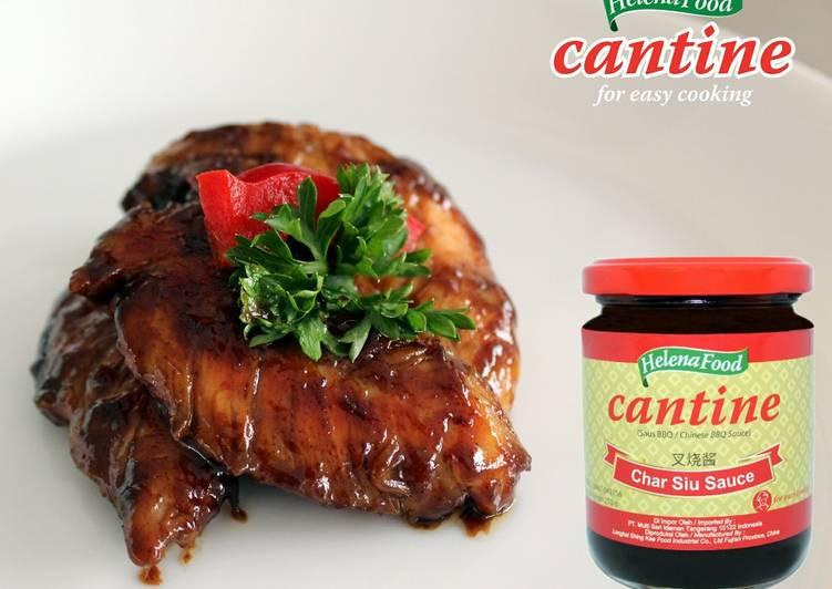 Resep: Ayam Panggang Teflon Charsiu BBQ Simpel dan Praktis