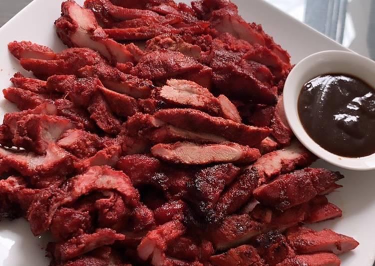 Cara mengolah Home made Charsiew babi (non halal)