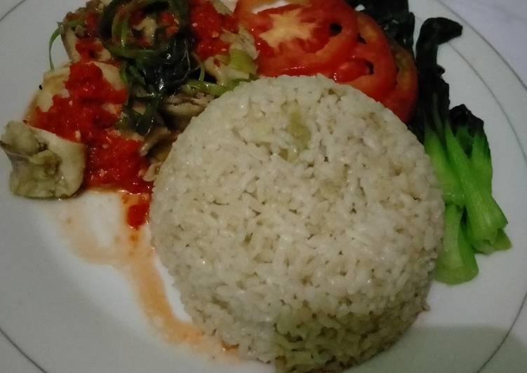 Resep: Hainanese chicken rice istimewa