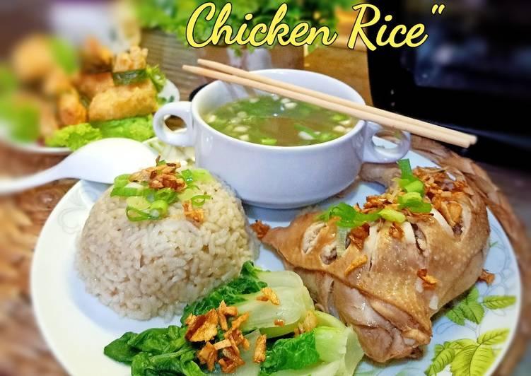 Resep mengolah Hainan chicken rice enak