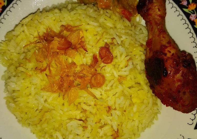Resep: Hainan rice & chicken istimewa