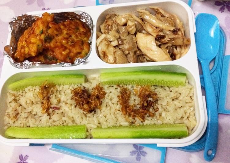 Cara membuat Hainan chicken rice