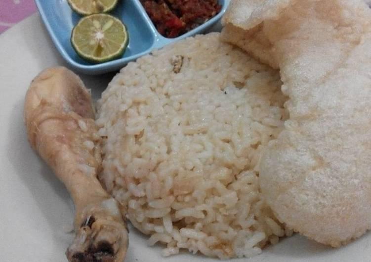 Resep: Simple Hainan chicken rice