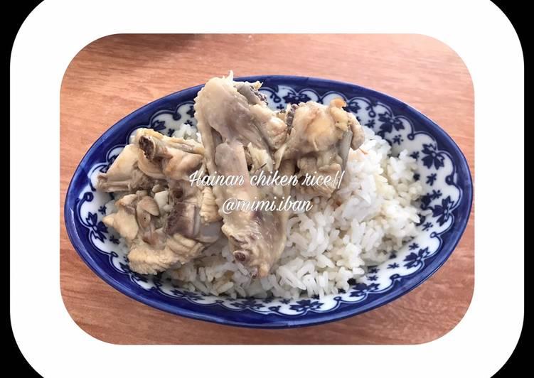 Resep: Hainan Chiken Rice (tulang ayam)
