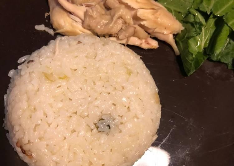 Cara Mudah mengolah Hainan Chicken Rice ala bunda icha enak