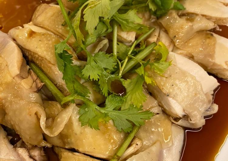 Resep: Nasi Hainam ala Singapur (hainanese chicken rice) istimewa