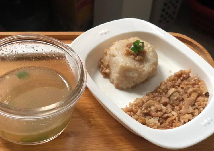 Resep: Mpasi8m+ hainan chiken rice lezat