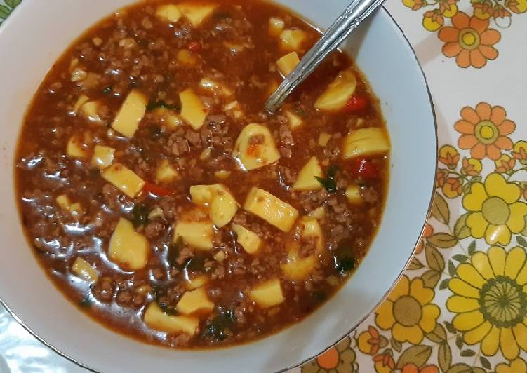 Resep: Mapo tofu