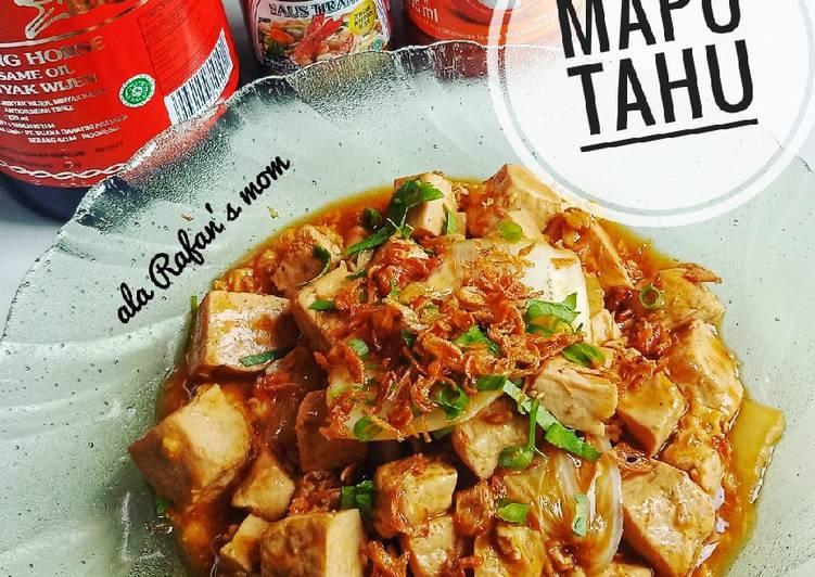 Resep: Mapo Tahu ala Rafan'S Mom