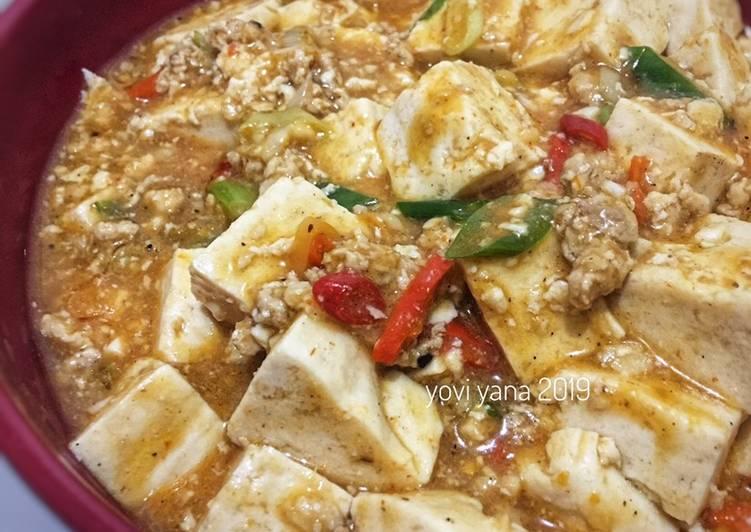 Resep memasak Mapo tofu