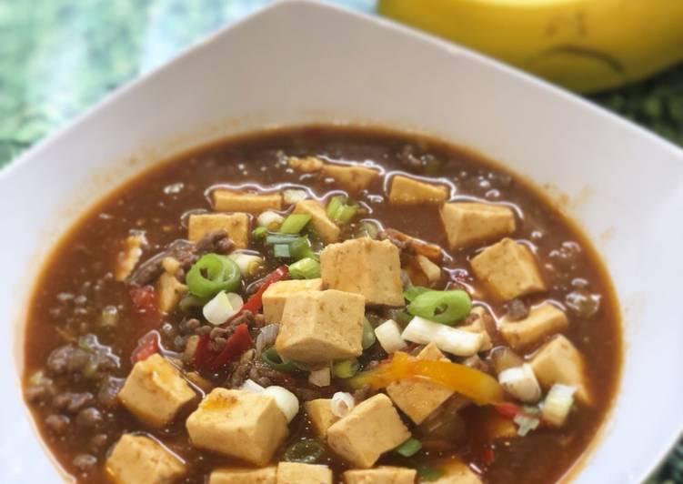 Cara membuat Mapo Tofu (mapo tahu) ala Tiger Kitchen lezat