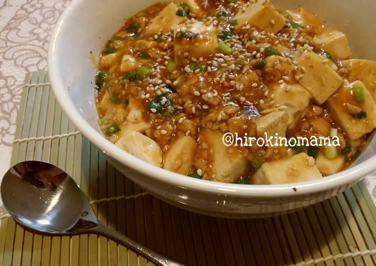 Resep: Mapo tofu/ mabo dofu