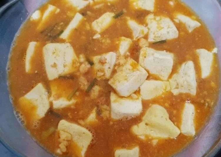 Resep: Mapo tofu udang cincang