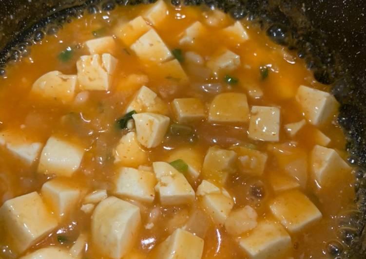 Cara Mudah memasak Mun Tahu Udang & Mapo Tahu Udang