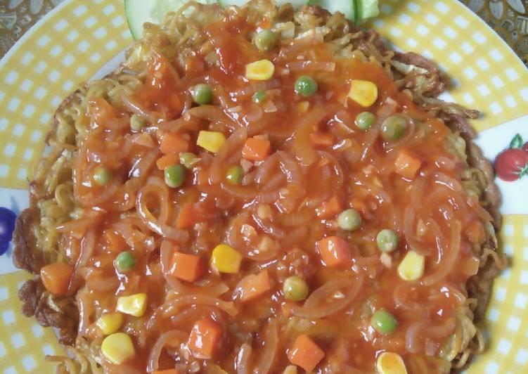Resep: 171.*mie goreng puyunghai* lezat
