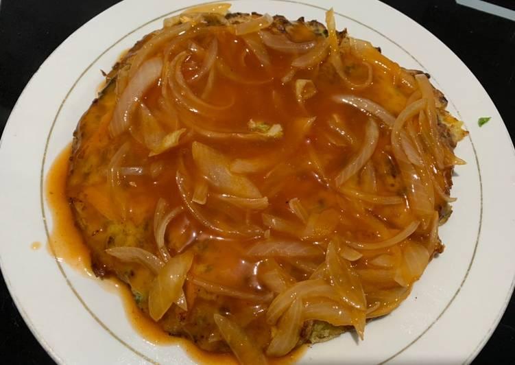 Cara memasak Fuyunghai saos asam pedas istimewa